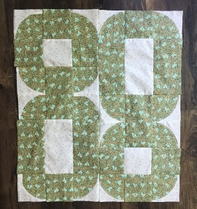 Four Circles Quilt Top
