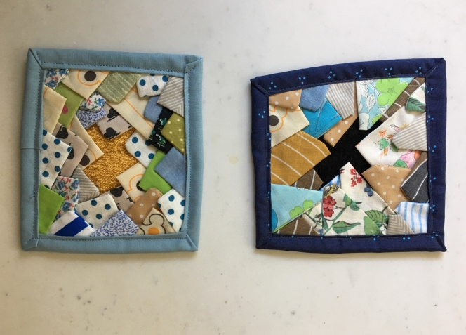 Experimental Mini Quilts