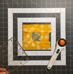 How to cut your pieced fabrics down to size